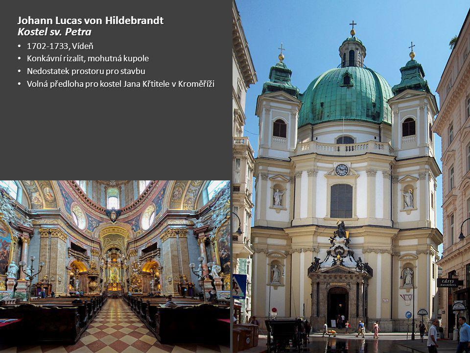 Johann Lucas von Hildebrandt Kostel sv. Petra