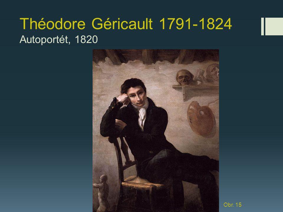 Théodore Géricault 1791-1824 Autoportét, 1820
