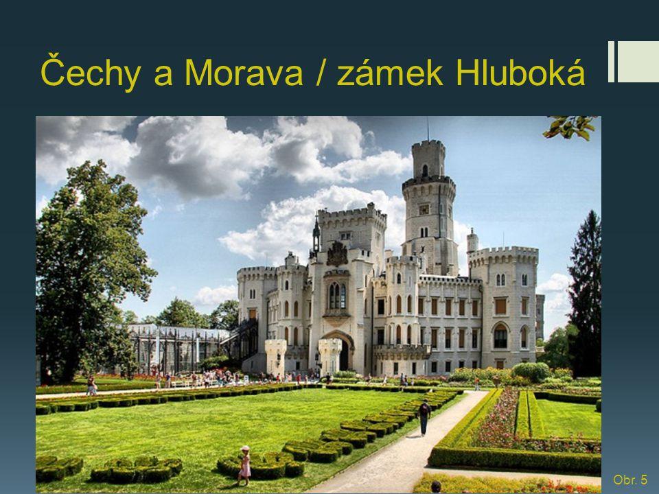 Čechy a Morava / zámek Hluboká