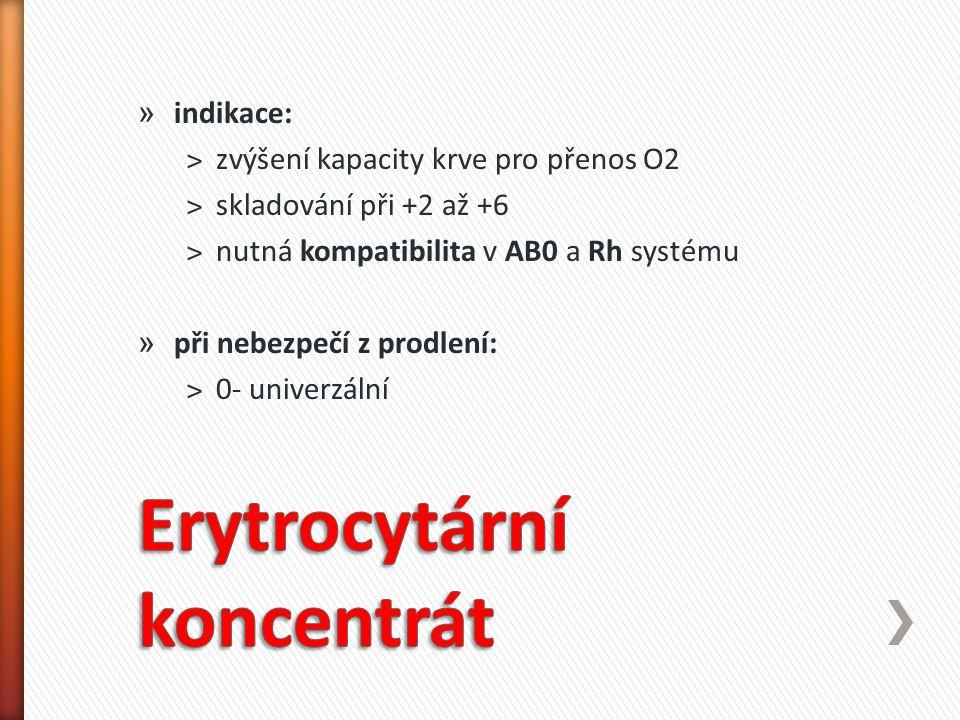 Erytrocytární koncentrát