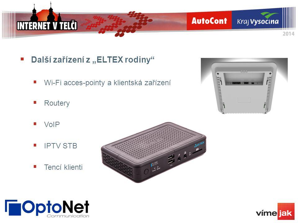 """Další zařízení z """"ELTEX rodiny"""
