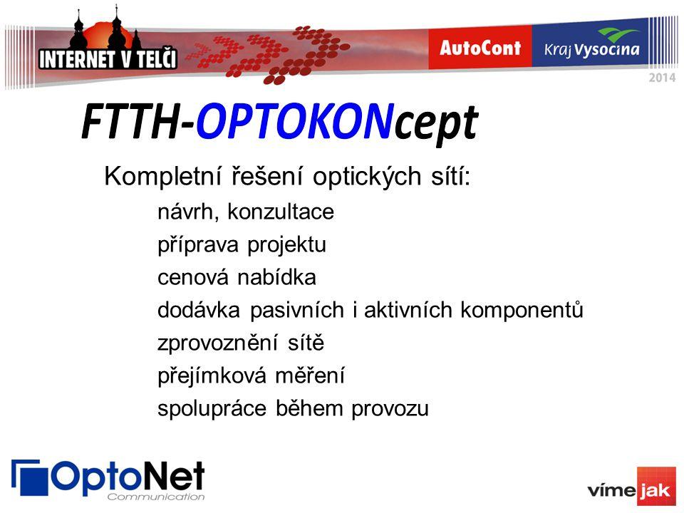 Kompletní řešení optických sítí: