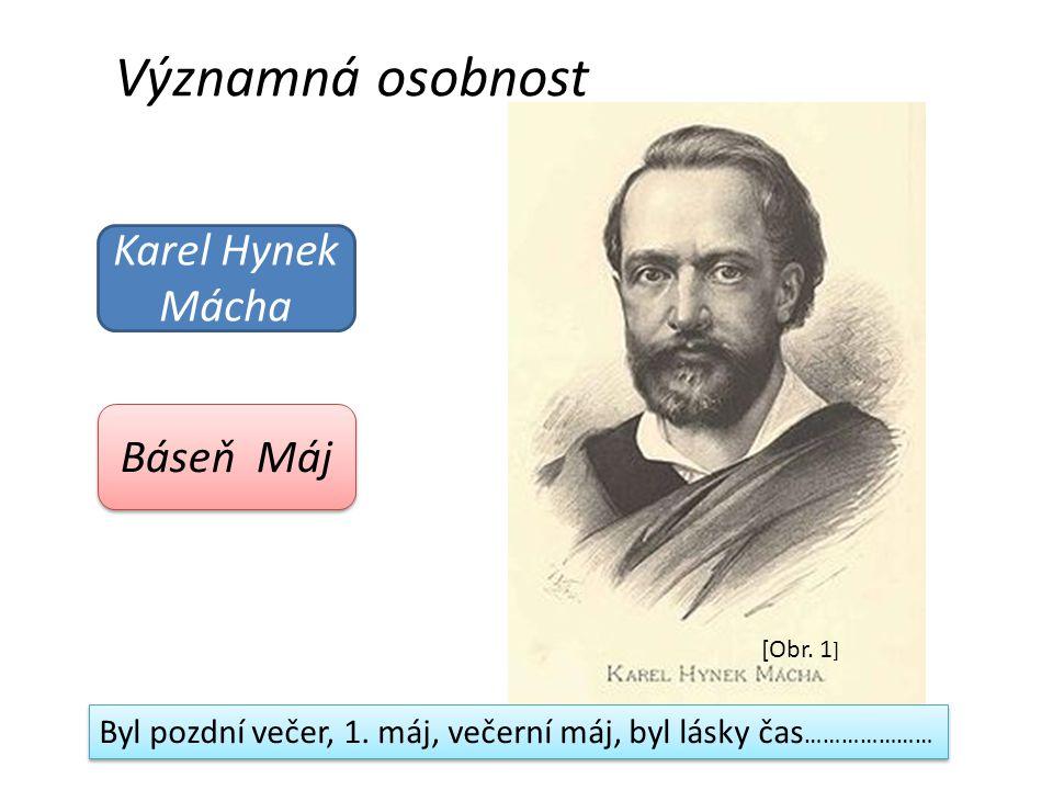 Významná osobnost Karel Hynek Mácha Báseň Máj