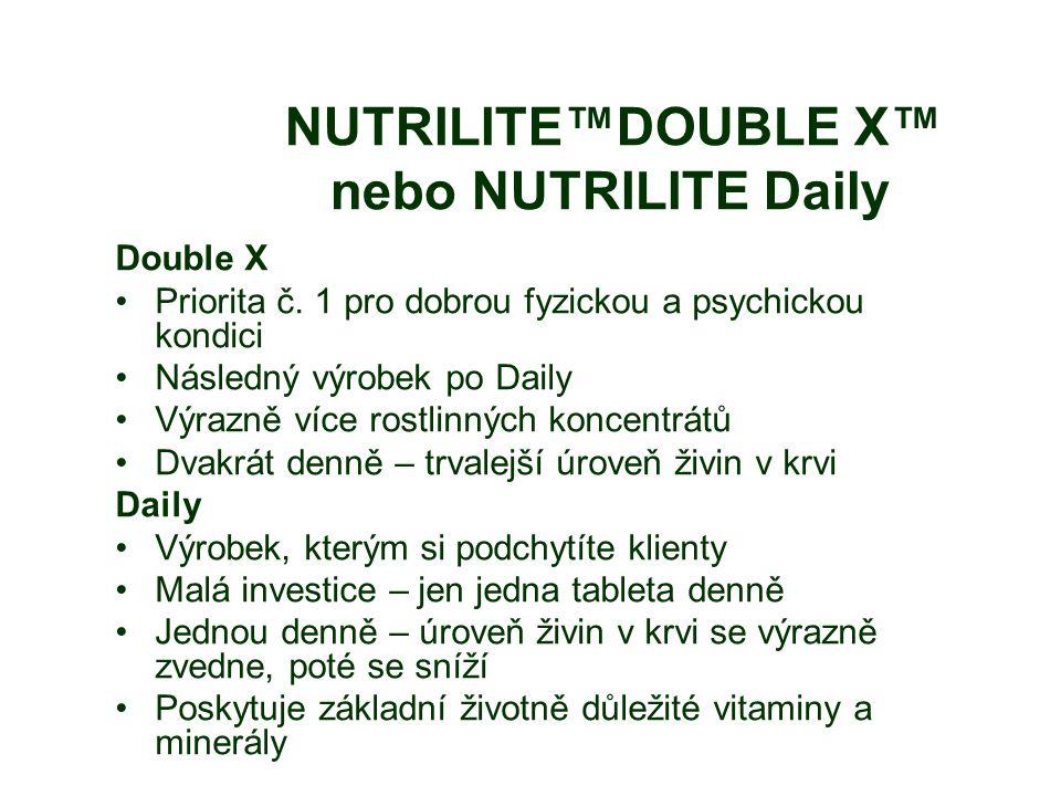 NUTRILITE™DOUBLE X™ nebo NUTRILITE Daily