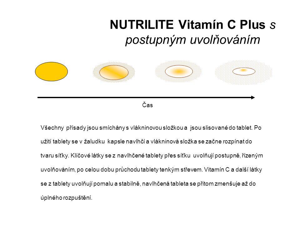 NUTRILITE Vitamín C Plus s postupným uvolňováním