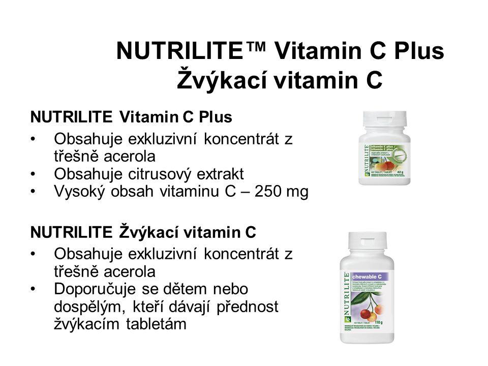 NUTRILITE™ Vitamin C Plus Žvýkací vitamin C