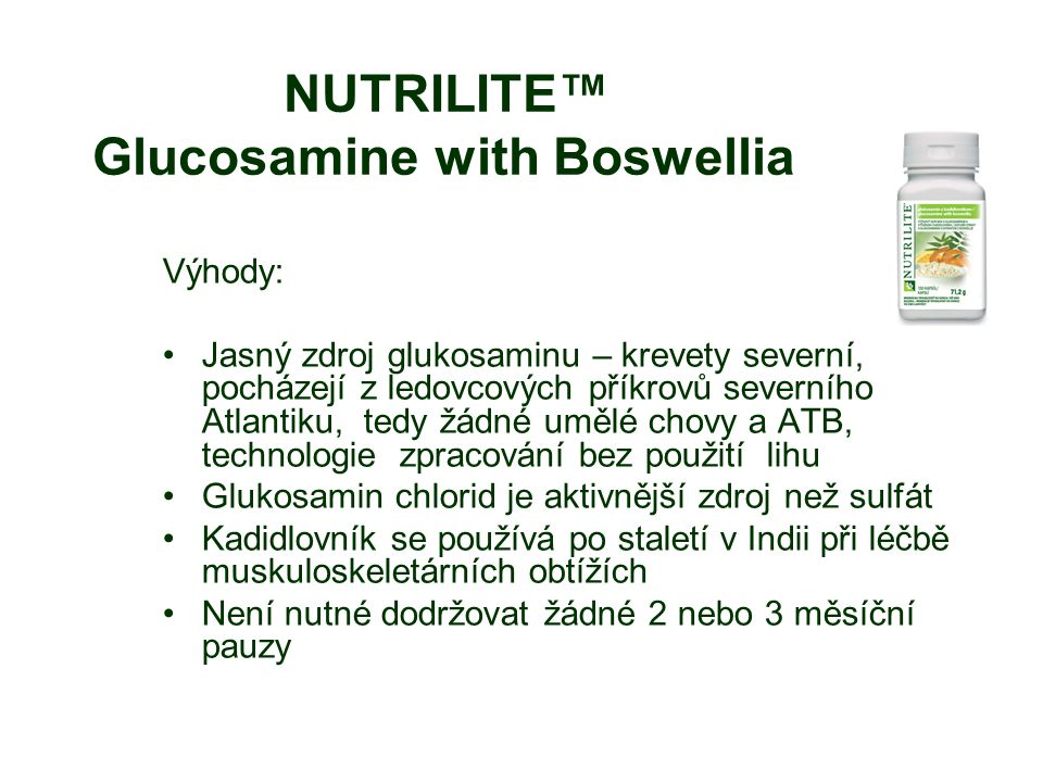NUTRILITE™ Glucosamine with Boswellia