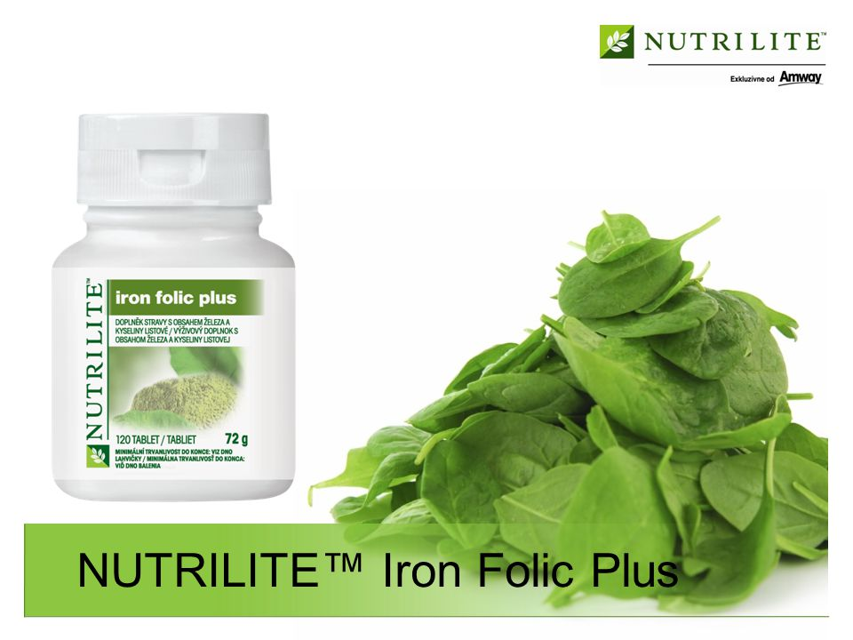 NUTRILITE™ Iron Folic Plus