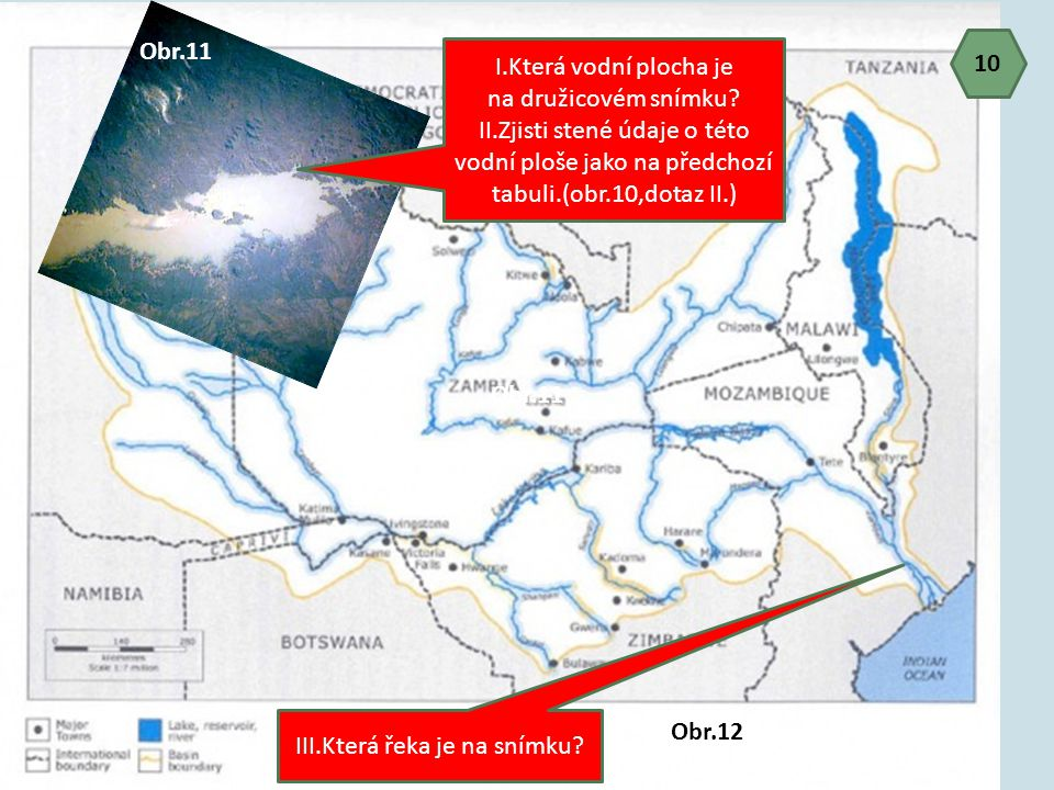 II.Zjisti stené údaje o této vodní ploše jako na předchozí