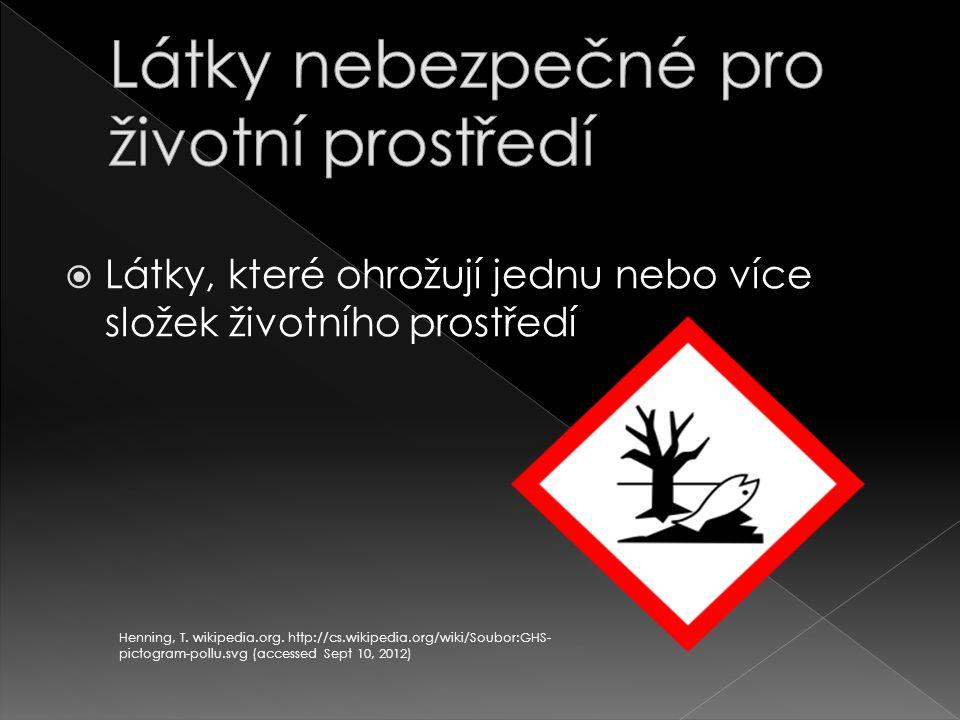 Látky nebezpečné pro životní prostředí