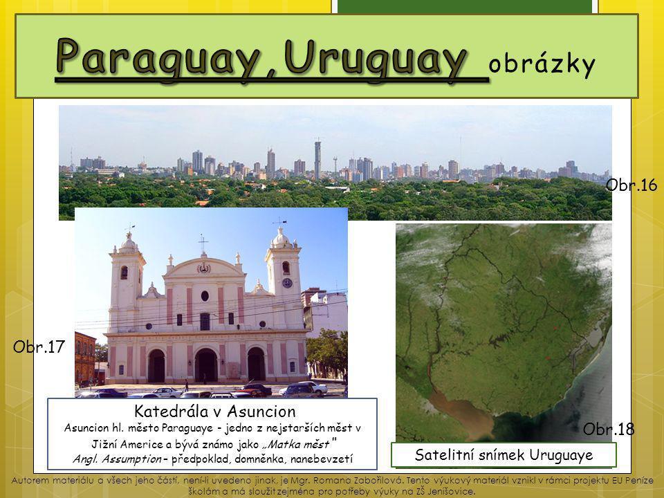Paraguay,Uruguay obrázky