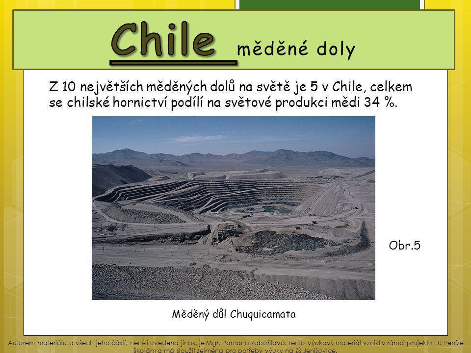 Měděný důl Chuquicamata