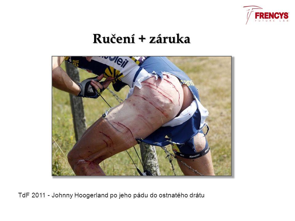 Ručení + záruka TdF 2011 - Johnny Hoogerland po jeho pádu do ostnatého drátu