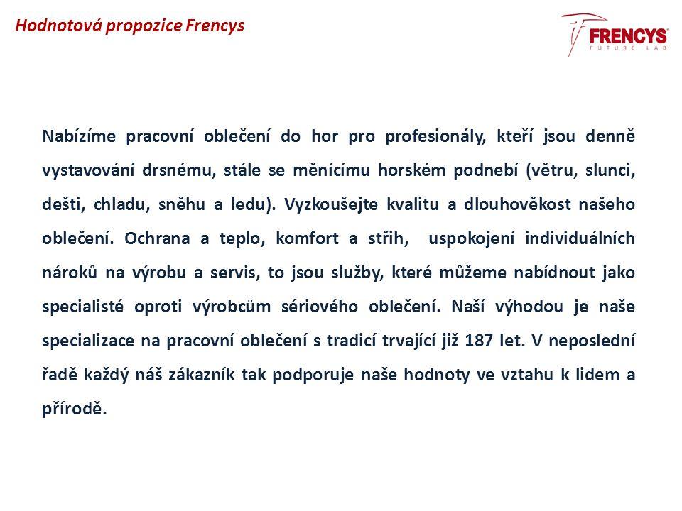 Hodnotová propozice Frencys