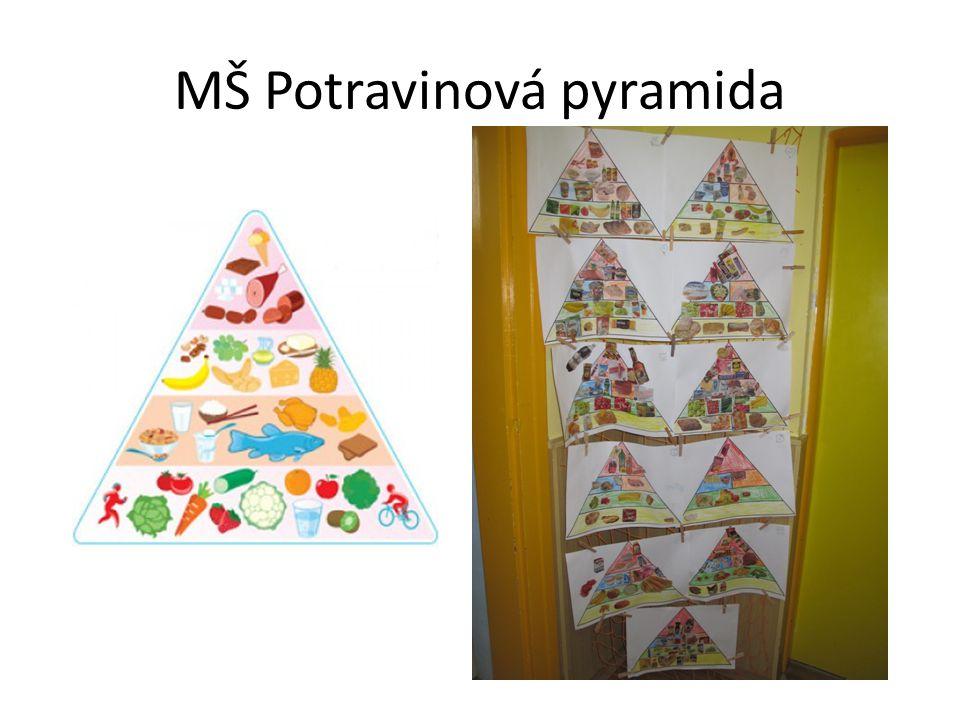 MŠ Potravinová pyramida