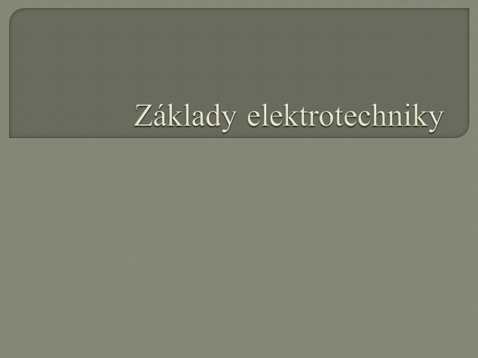 Základy elektrotechniky