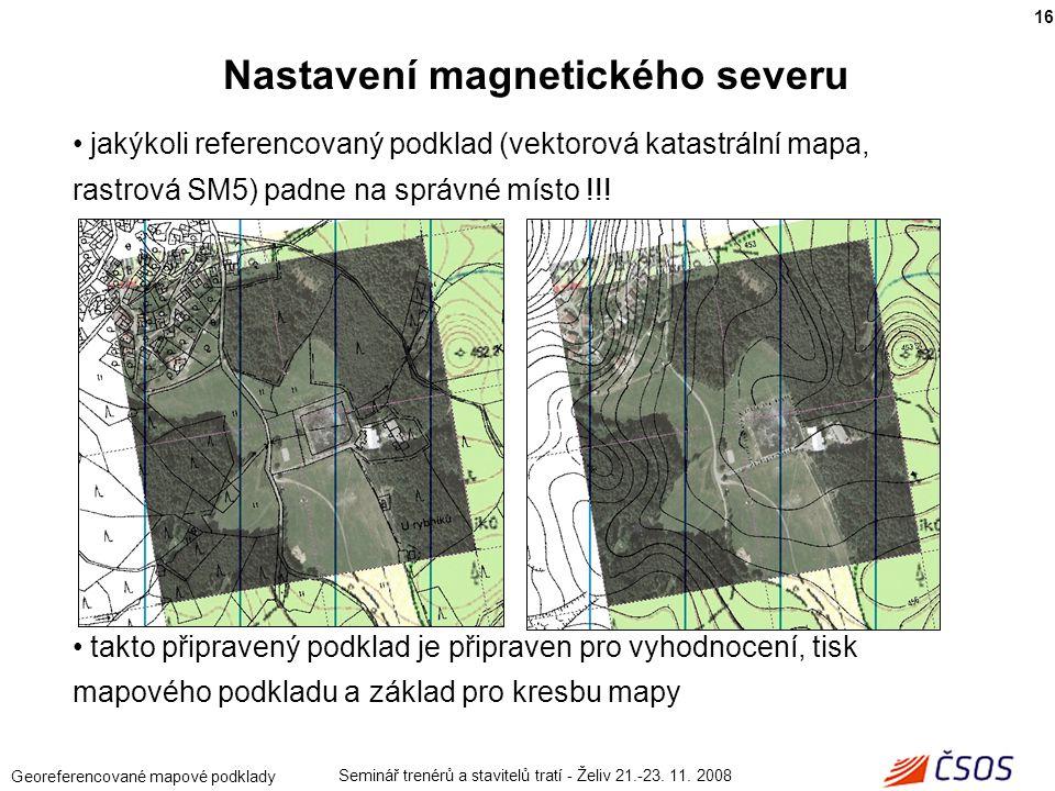 Nastavení magnetického severu