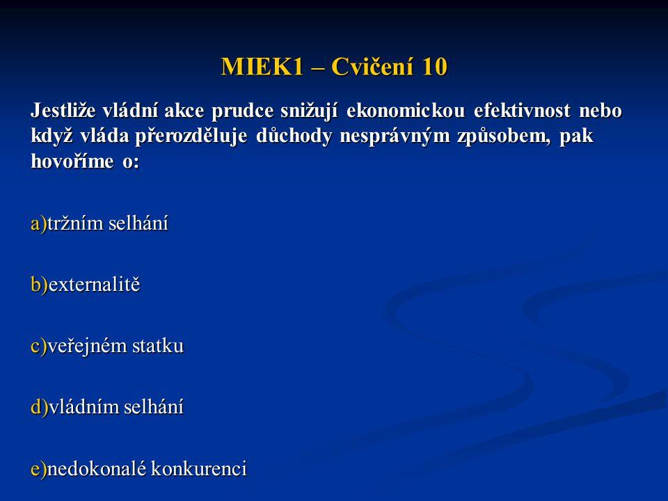 MIEK1 – Cvičení 10