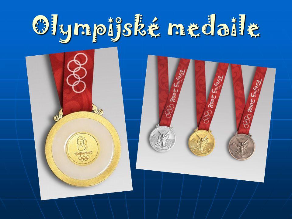 Olympijské medaile