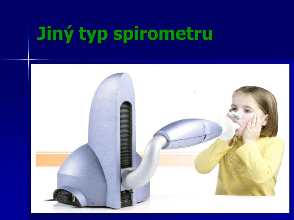 Jiný typ spirometru