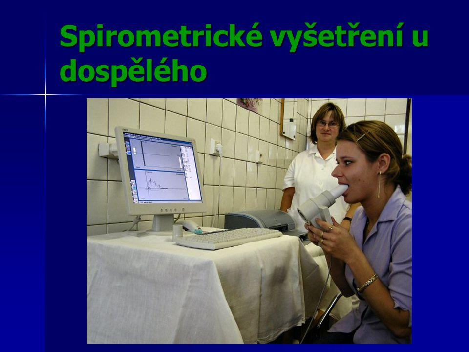 Spirometrické vyšetření u dospělého