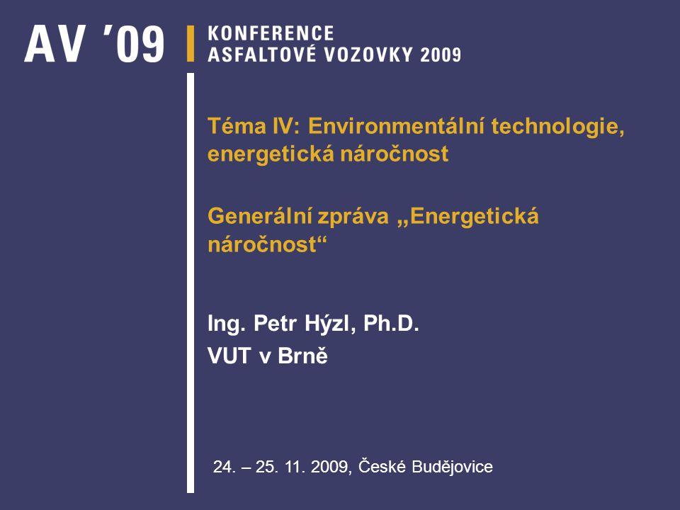 Ing. Petr Hýzl, Ph.D. VUT v Brně
