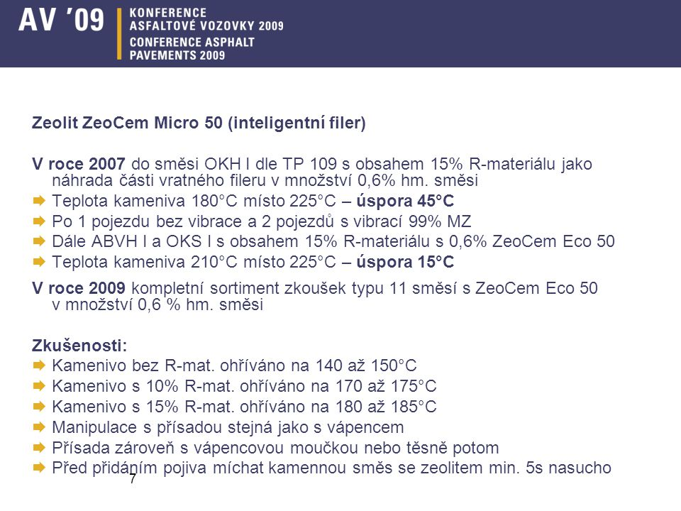 Zeolit ZeoCem Micro 50 (inteligentní filer)