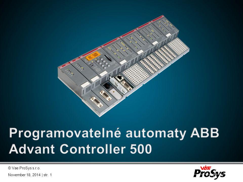 Programovatelné automaty ABB Advant Controller 500