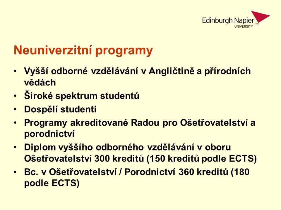 Neuniverzitní programy