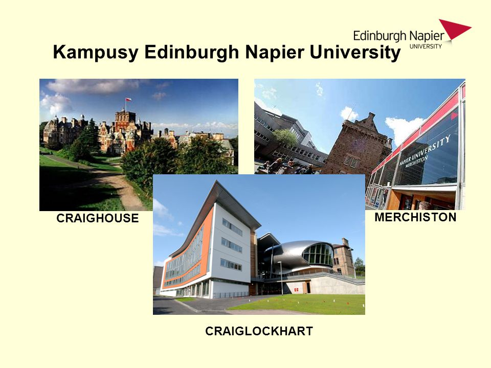Kampusy Edinburgh Napier University
