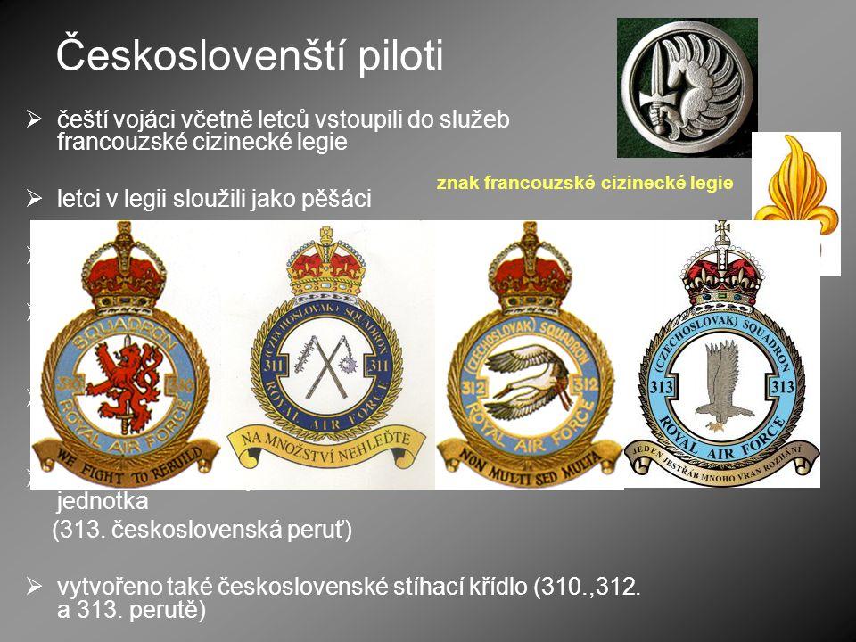 Českoslovenští piloti