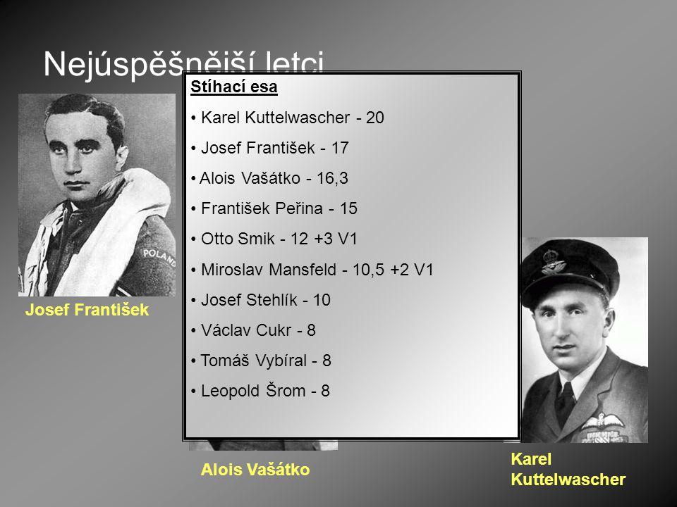 Nejúspěšnější letci Stíhací esa Karel Kuttelwascher - 20