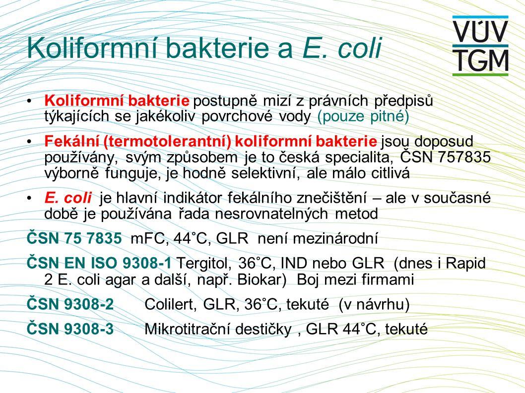 Koliformní bakterie a E. coli