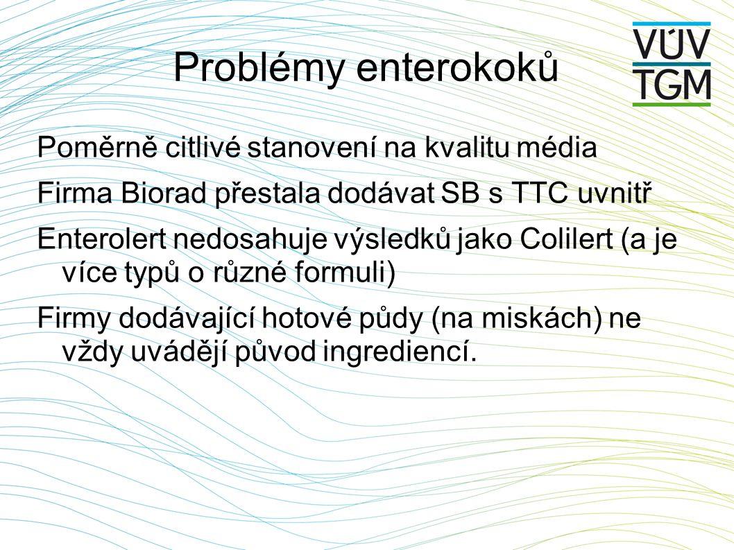 Problémy enterokoků