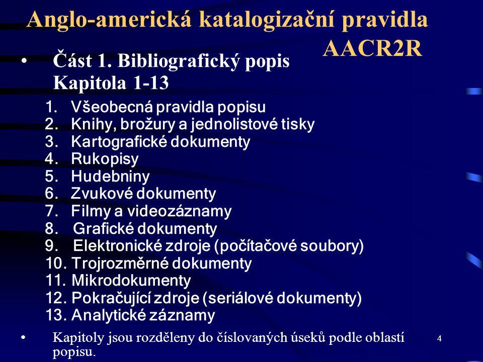 Anglo-americká katalogizační pravidla AACR2R