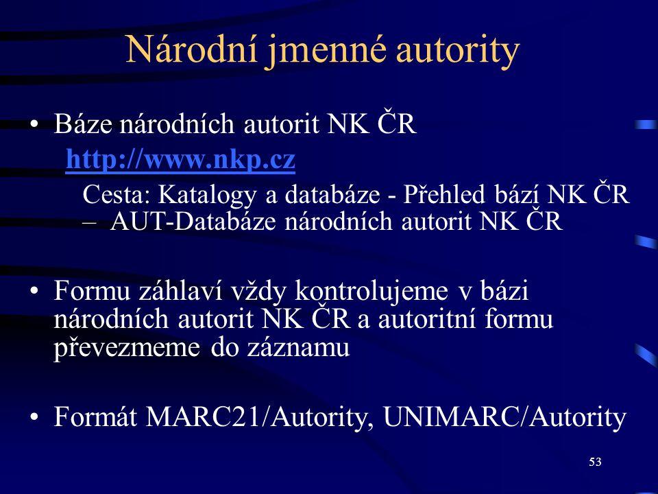 Národní jmenné autority