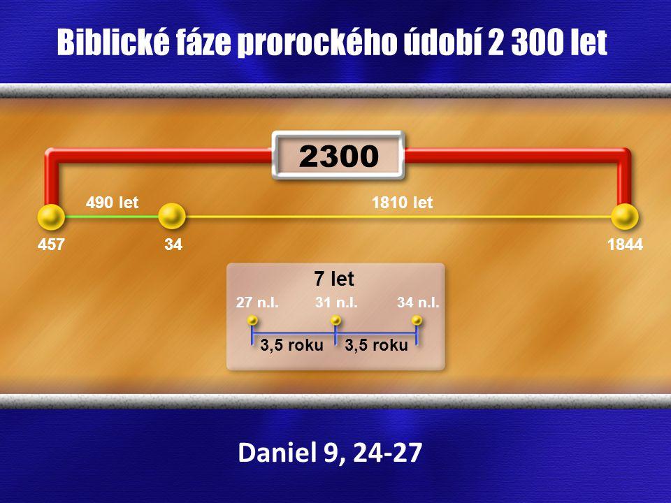 Biblické fáze prorockého údobí 2 300 let
