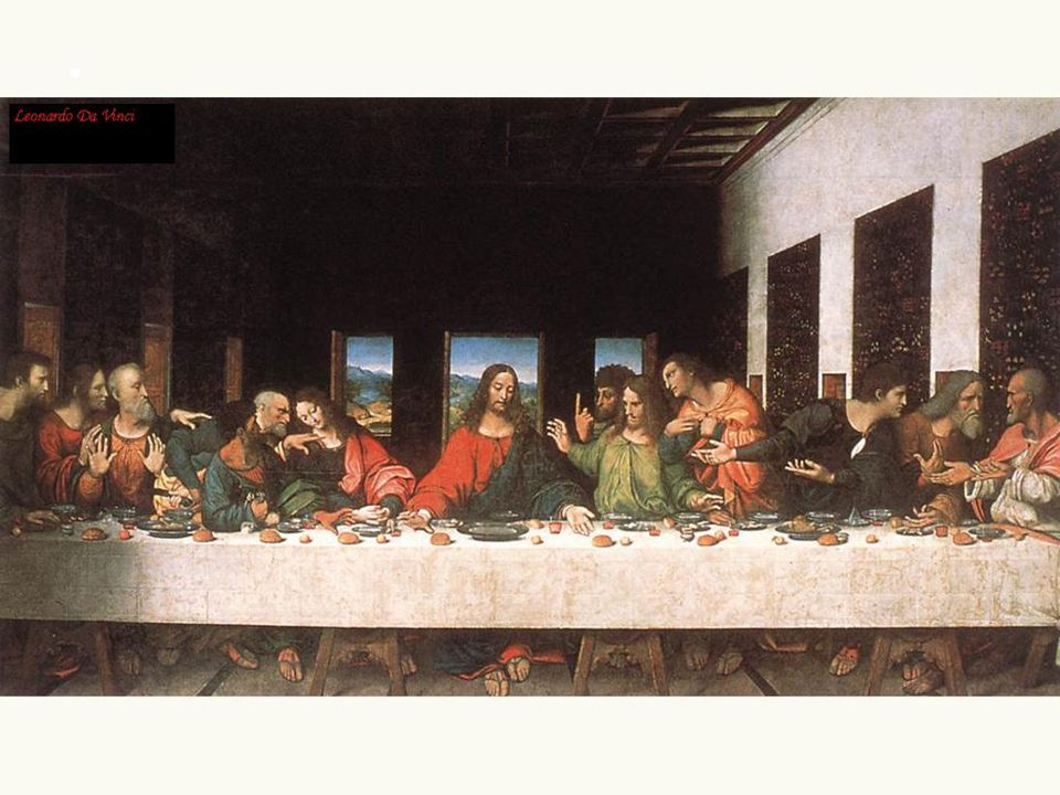 Davinciho obraz… večeře páně – jde o jidáše…