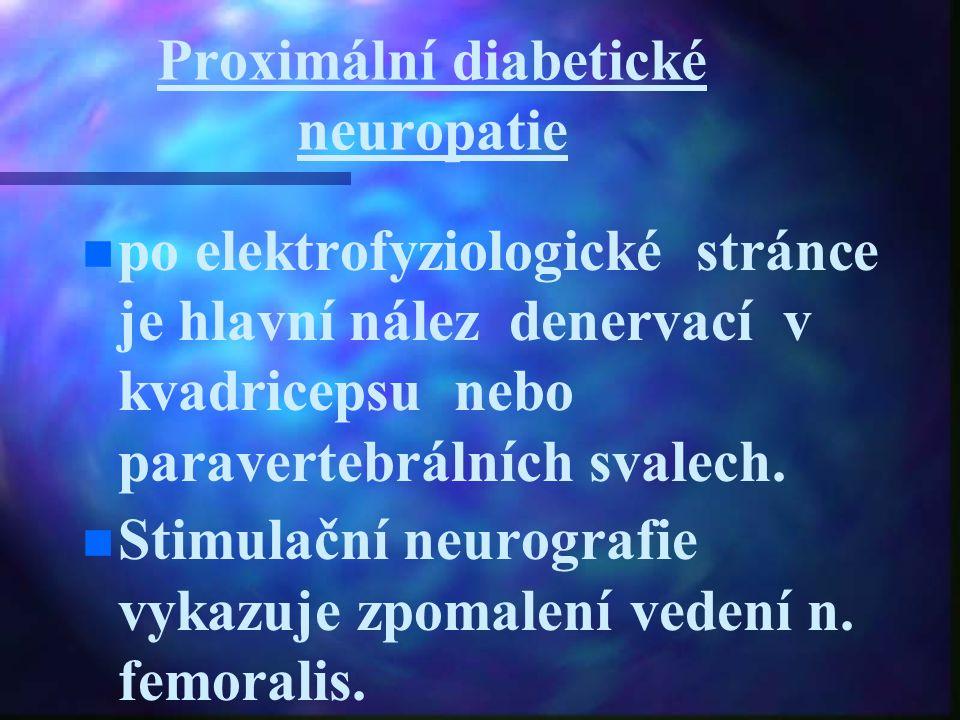 Proximální diabetické neuropatie