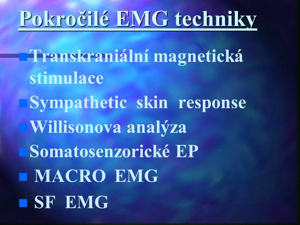 Pokročilé EMG techniky
