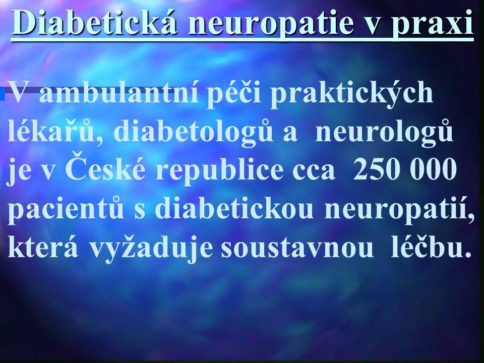 Diabetická neuropatie v praxi
