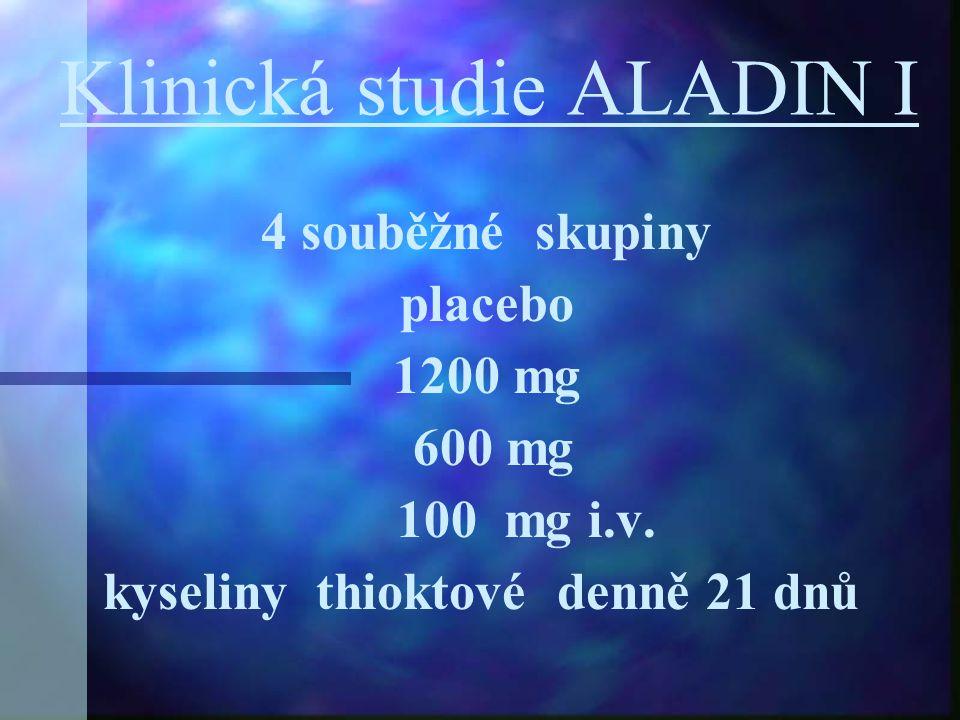 Klinická studie ALADIN I