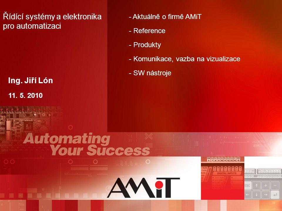 Řídící systémy a elektronika pro automatizaci