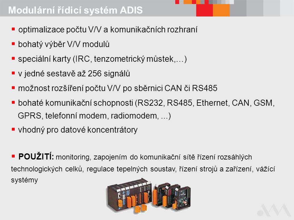 Modulární řídicí systém ADIS