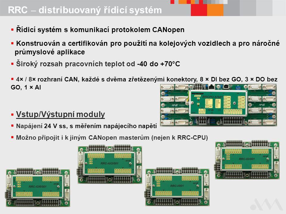 RRC – distribuovaný řídicí systém