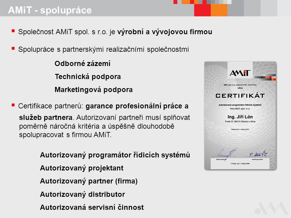 Společnost AMiT spol. s r.o. je výrobní a vývojovou firmou