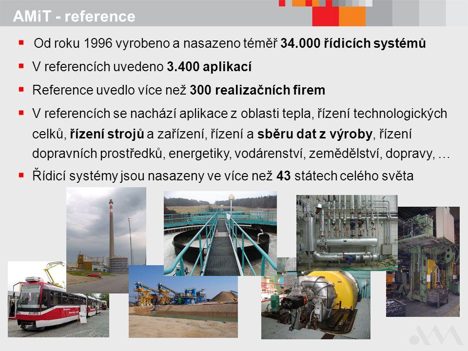 Od roku 1996 vyrobeno a nasazeno téměř 34.000 řídicích systémů