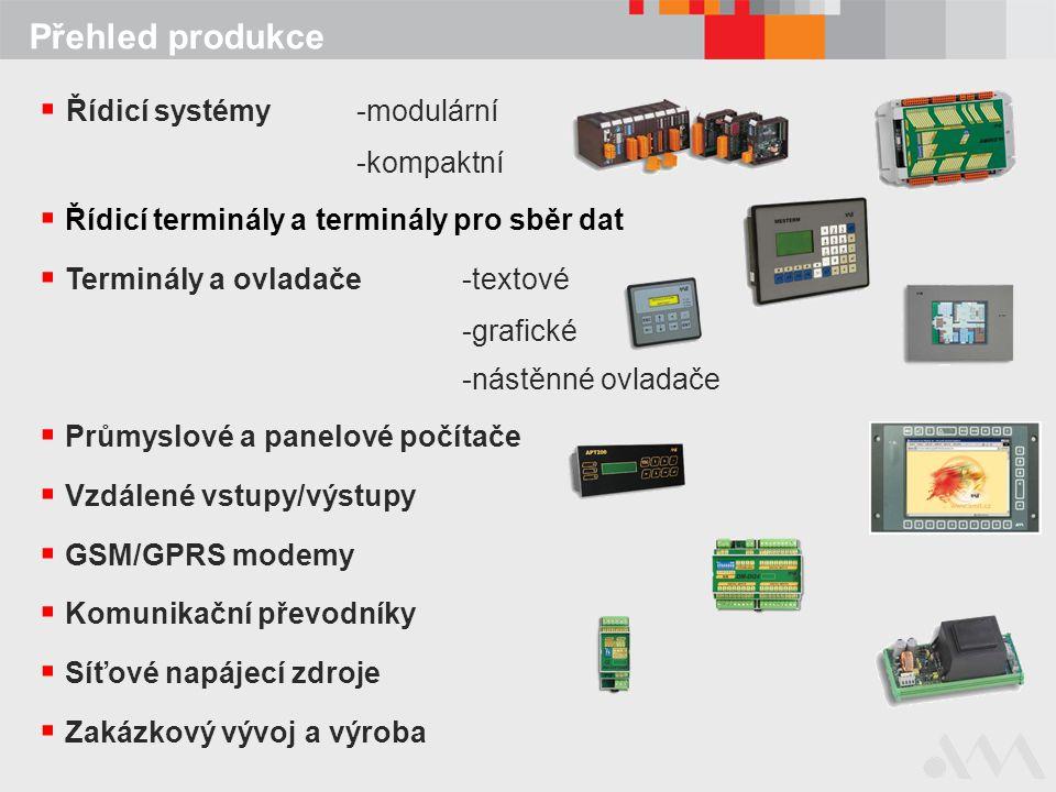 Řídicí systémy -modulární