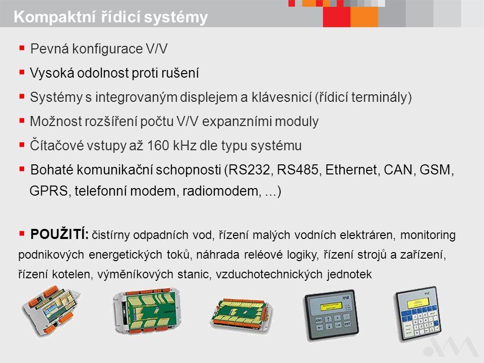 Kompaktní řídicí systémy
