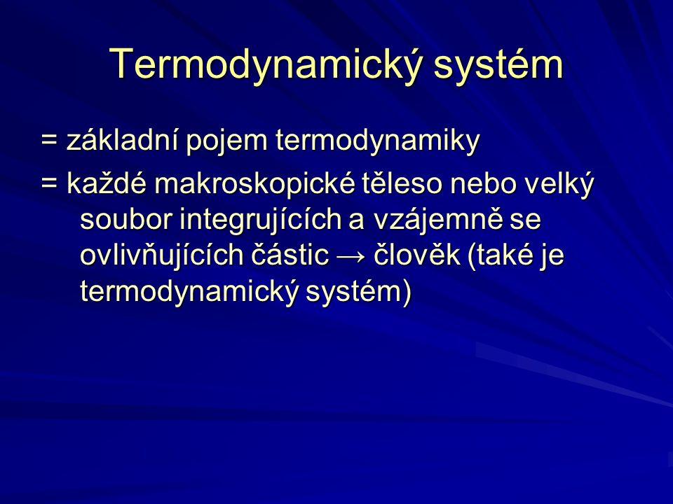 Termodynamický systém